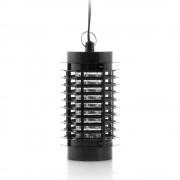 Лампа против комари InnovaGoods V0100845, Ултравиолетова светлина, 3W, Помещения до 40m², 135 см кабел, Черен