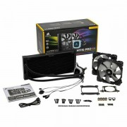 Corsair Hydro Series, H115i PRO, 280mm Radiator, Advanced RGB Lighting and Fan Control with Software, Dual 140mm ML Series PWM Fans, Liquid CPU Cooler