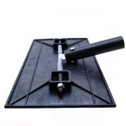 Aplicador manual de verniz / laca 28x16 cm com suporte para cabo