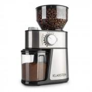 Klarstein Florenz, мелачка за кафе, 200 W, стоманени мелещи камъни, неръждаема стомана (TK11-FlorenzKaffeeSS)