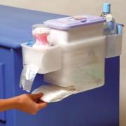 Cutie pentru depozitare accesorii igiena Litaf Happy Nappy