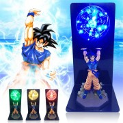 Cool Action Figure Doll Decor Toy Desk Lamp Strength Power LED