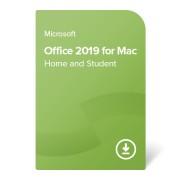 Office 2019 Home and Student pentru Mac certificat electronic