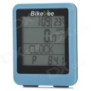 Bikeee wh-20 Agua Wireless Resistente computadora de la bici de la bicicleta Speed ??Meter - Azul + Negro