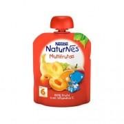 Nestle Natures Multifrutas 6M 90gr
