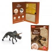 Kit excavare Dinozaur, bloc din ipsos pentru excavat, 25 cm, 10 ani+