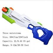 HomDSim Ultra-large Capacity Water Gun Squirt Gun Blaster Toy Soaker For summer Best Fun Game Happy Kid Children Long Range Model M