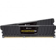 Kit Dual Channel Corsair 8GB (2 x 4GB), DDR3, 1600MHz, radiator negru