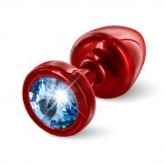 Anni Round 25 mm Red & Blue