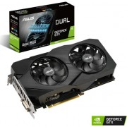 Placa video Asus Advanced GeForce GTX 1660 Advanced Evo (Dual-GTX1660-A6G-EVO) , 6GB , GDDR5 , 192 bit