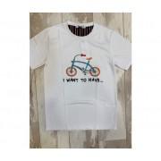 OVER-D T-Shirt Bicibletta