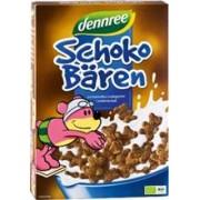 Cereale Ursuleti de Ciocolata Bio Dennree 250gr