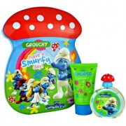 The Smurfs Grouchy lote de regalo I. eau de toilette 50 ml + espuma de baño 75 ml