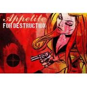 Werk aan de Muur Schilderij Appetite For Destruction - Aluminium Dibond - 50x35