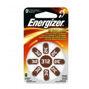 Focus Energizer Hörapparatsbatteri Size 312 - 8-pack