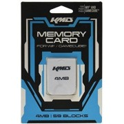 KMD 4MB Gamecube Compatable Memory Card for Nintendo Wii