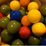 Maxi Galaxy Bubble Gum Balls Zed Candy