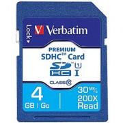 Verbatim 4 GB Premium SDHC Memory Card UHS-I Class 10 - 96171