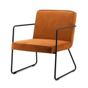 Fauteuil Alpha cognac - By-Boo