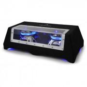 """Auna CB350-50 2 X 12""""HIFI двоен субуфер за кола светлинни ефекти (C8-SUB-2X12-LED)"""
