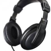 Слушалки HAMA 184013, Basic4TV, HK-5619 с 6 м кабел, Черен, HAMA-184013