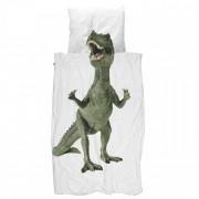 Snurk Dinosaurus Rex dekbedovertrek Snurk-2-persoons 240 x 220 cm incl. 2 kussenslopen 60 x 70 cm