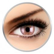 ColourVUE Cheerful Foamy Beige - lentile de contact colorate caprui lunare - 30 purtari (2 lentile/cutie)