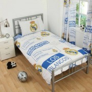 Club Licensed Real Madrid Stadion Dekbedovertrek & Kussensloop (1 Persoon) - een Maat
