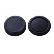 Micnova LBC-O Camera Body Cover Rear Lens Cap for Olympus DSLR and Lens - Capac obiectiv pt. Olympus DSLR