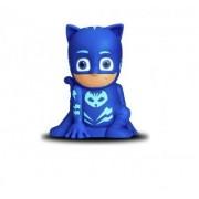 PJ Masks Pyjamashjältarna, Kattpojken figur, 2 i 1 Fick- och nattlampa