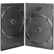DVD-BOX 7 mm Двойна тънка черна за DVD