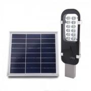 Lampa Solara 12LED Alb Rece 6V 8W Zuke ZK7100