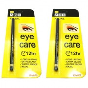 Kajal Pencil Eyecare Black 0.3 gm Pack of 2