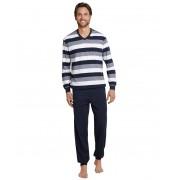 Schiesser Schiesser Pyjama 159623 heren donkerblauw
