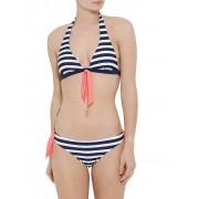 HOT STUFF Damen Bikini Maritim blau 34