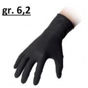 Reflexx Guanti In Lattice Monouso Taglia M Neri 6,2 Gr 44 Confezione 100 Pz