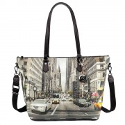 Y Not? Borsa Donna Y NOT Shopping a Spalla con Tracolla YES-397 NY Street Style