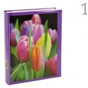Fényképalbum virágos 200db 15x10cm-es képhez B46200S Florid 3féle - Fényképalbum