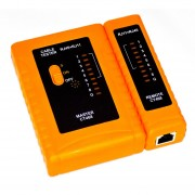 Tester Probador Lan Cable De Red Utp Rj45 Rj11 Gralf Wh468