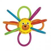 Manhattan Toy - 211690 - Jouet De Premier Age - Zoo Winkels Lion