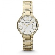 Fossil Virginia Analog Silver Dial Womens Watch - Es3283