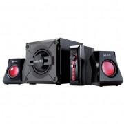 Genius SW-G2.1 1250 II 2.1 hangfal - fekete