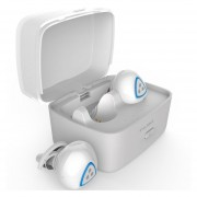 Audífonos Bluetooth Manos Libres Inalámbricos, D900S Deportes Audifonos Bluetooth Manos Libres Inalámbrico 4.0 Auriculares Apt-x IPX4 Impermeable Earbud (blanco)