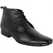 1AAROW Viper Mens Formal Boot Black