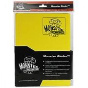 Monster Binder - 9 Pocket Trading Card Album - Matte Yellow (Anti-theft Pockets Hold 360+ Yugioh Pokemon Magic the Gathering Cards)
