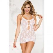 Transparant wit jurkje