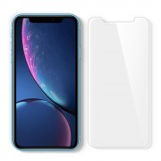 Folie sticla cu sistem de montare Case friendly Spigen GLAS.tR EZ FIT SLIM iPhone XR
