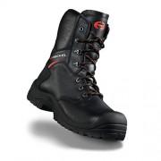 Vysoká bezpečnostná obuv s oddľahčenou kompozitnou špičkou Heckel MACsole® EXTREM 2,0 - MACFOREST ZIP 6265002 Farba: Čierna, Veľkosť: 44