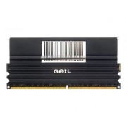 GeIL Black Dragon EVO ONE - DDR2 - 4 Go : 2 x 2 Go - DIMM 240 broches - 1066 MHz / PC2-8500 - CL5 - 2.1 - 2.3 V - mémoire sans tampon - NON ECC
