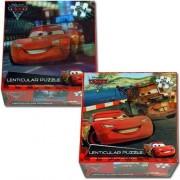Disney's Cars Lenticular Puzzle